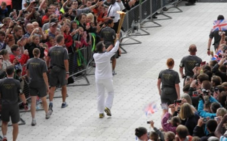 Olympic Torch Relay Ceremony