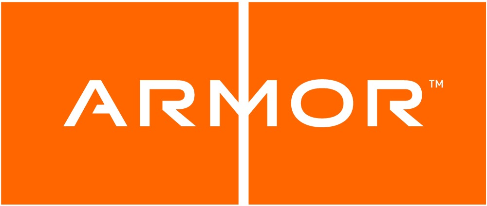 armor logo in orange