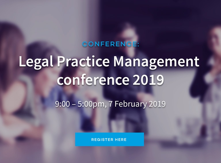 Legal Practice Management conference 2019