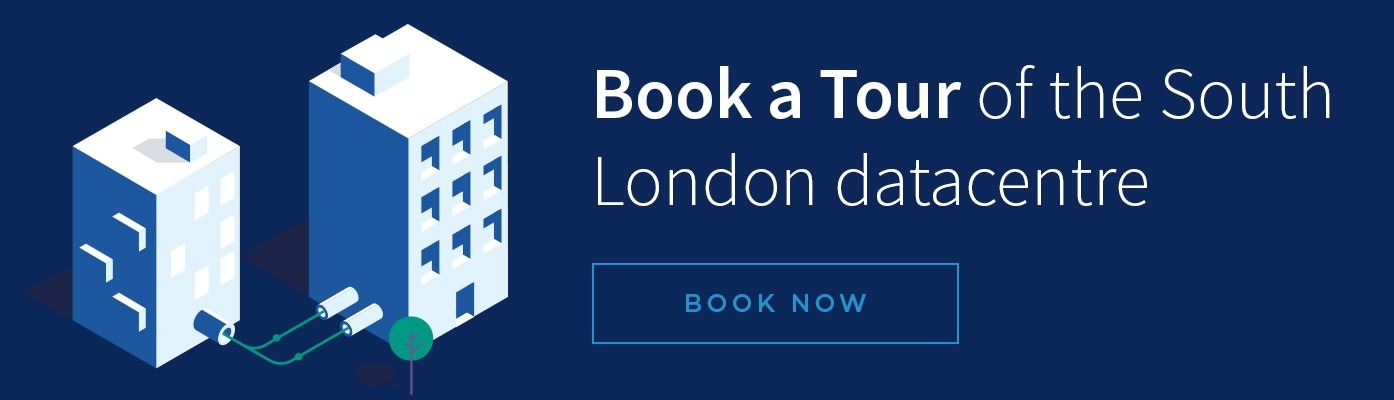 Book a Tour of the South London Data centre