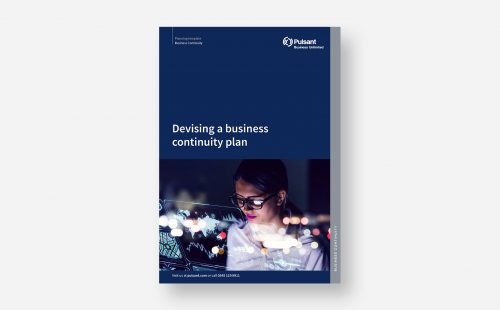 devising a business continuity plan template