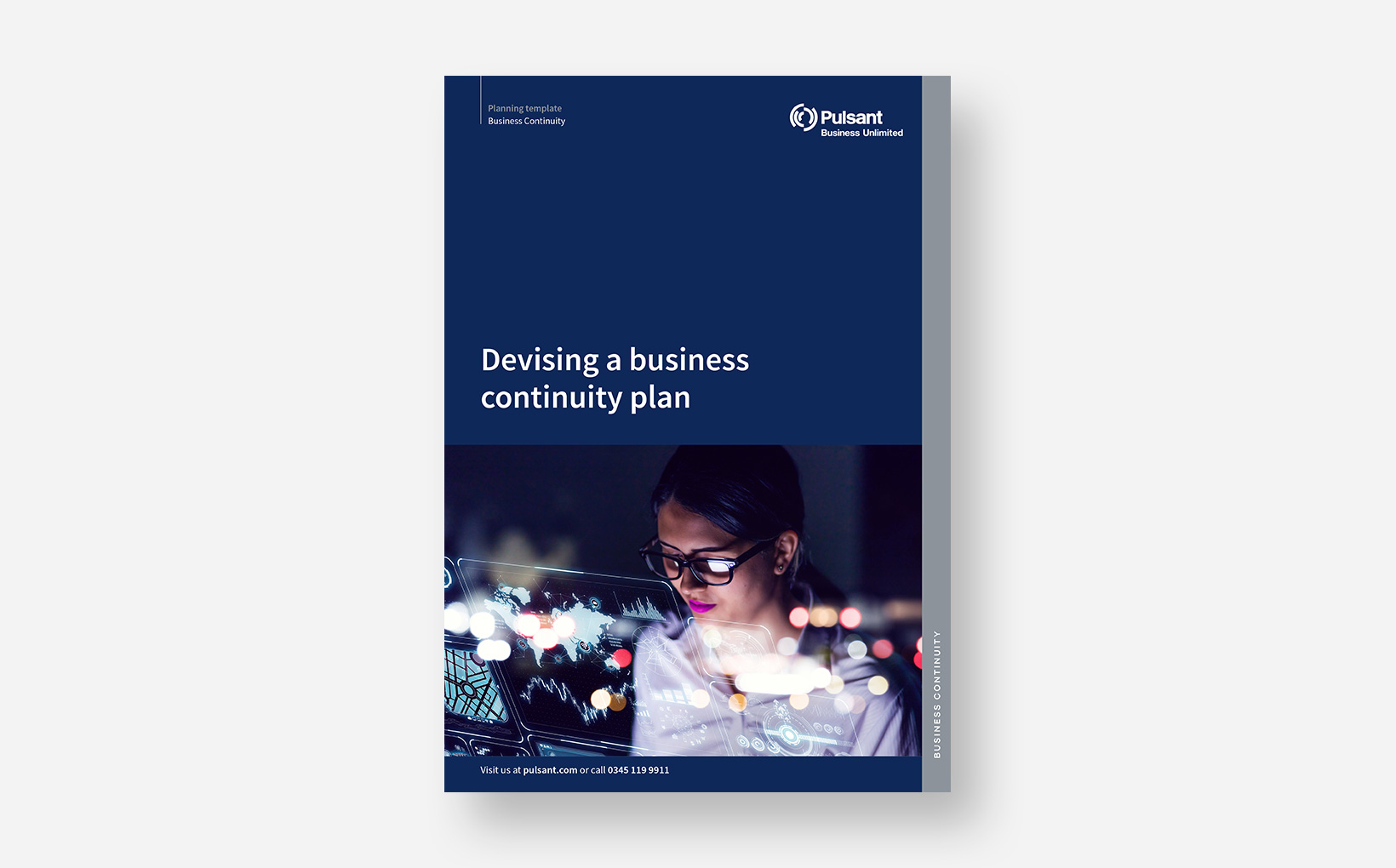 Devising a Business Continuity Plan: <p> a Step-by-Step Template