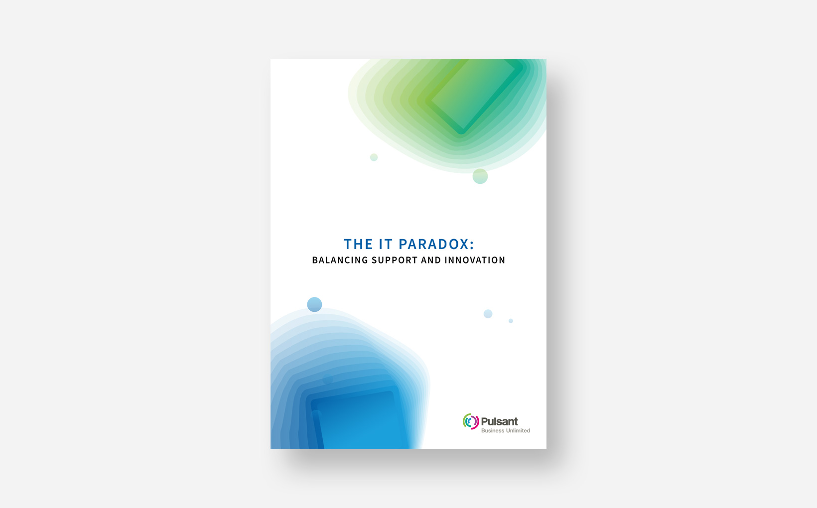 Four steps to resolving the IT Paradox
