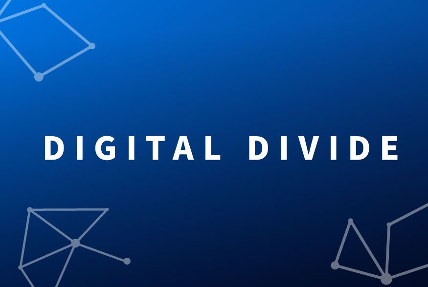 How to get on the right side of the digital divide
